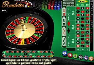 immagine Roulette demo online