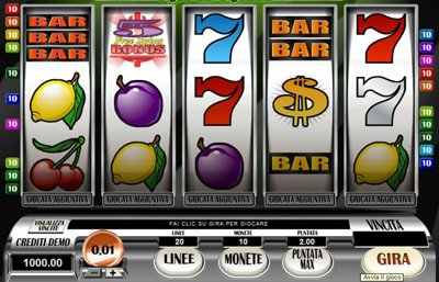 slot machine gratis online giochi
