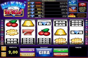 diamond wild slot gratis 5 rulli