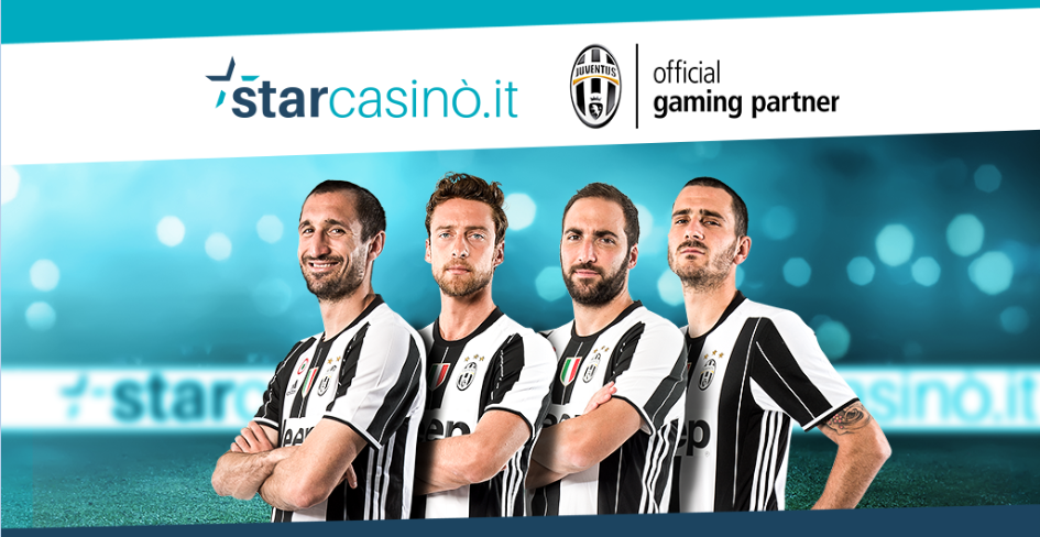 Star Casinò e Juventus partnership