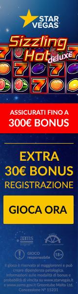 La Sizzling hot deluxe gratis con bonus senza deposito