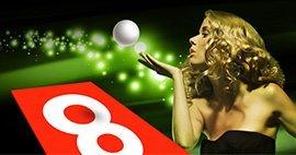 Roulette Lucky 8 su 888 Casino Online