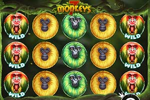 Giochi Slot Gratis 5 rulli - 7 Monkey (pragmatic play)