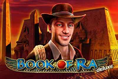 Book of Ra Deluxe Slot machine 5 rulli (novomatic)