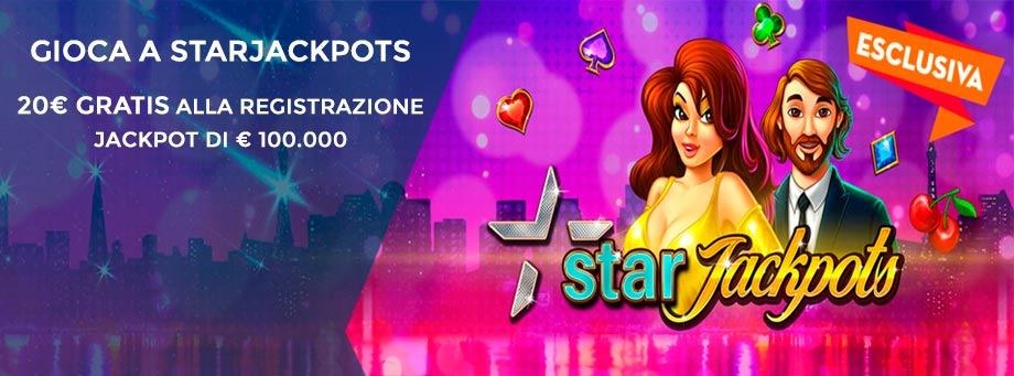 StarJackpots Slot machine 5 rulli (pragmatic play)