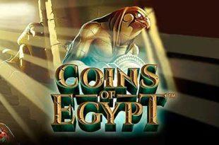 SlotGratis Coins of Egypt - Netent
