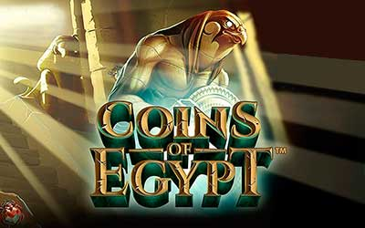 Coins of Egypt Slot Demo Netent 5 rulli