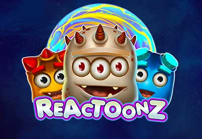 Reactoonz SlotGratis Play'n Go