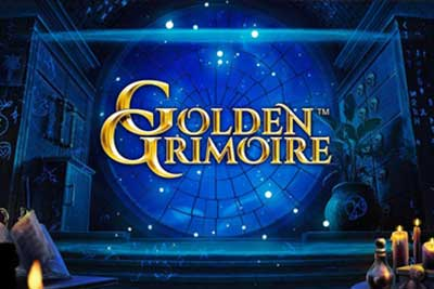 Video Slot Gratis Golden Grimoire di Netent
