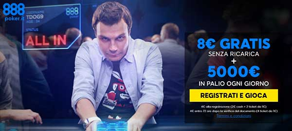 888 Poker Online di 888.it