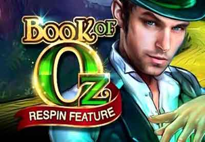 Nuove video Slot Gratis - Book of Oz - microgaming