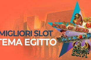 Le Migliori Slot Online a Tema Egiziane