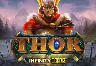Video Slot Machine Online Yggdrasil - Thor Infinity Reels