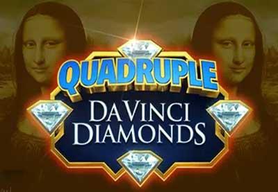 Quadruple Da Vinci Diamonds Slot by High 5 Games