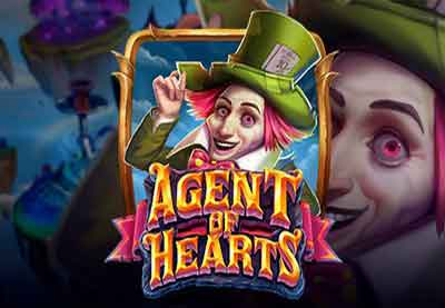 Agent of Hearts Slot Machine Online by Playn Go