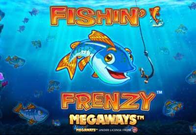 Fishing Frenzy Megaways - Slot Machine Online Blueprint Gaming