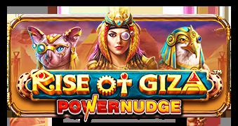 Rise of Giza PowerNudge by PragmaticPlay